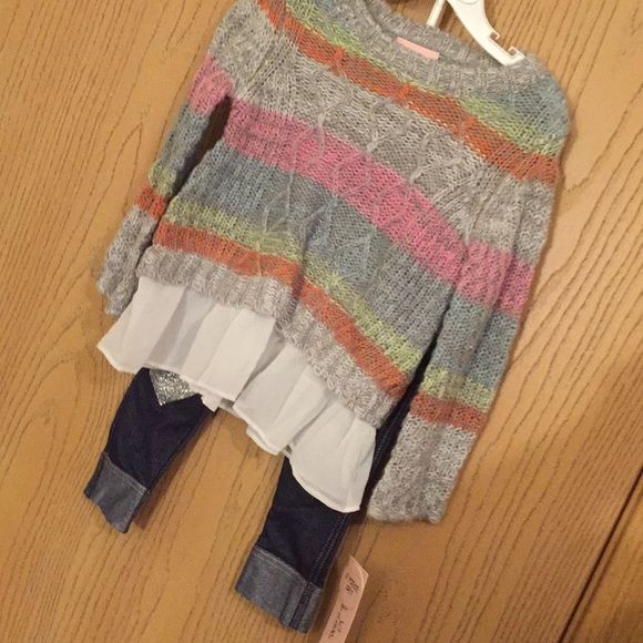 Pretty two pc outfit by Little Lass. 2 -T